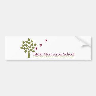 Titoki Montessori School Car Bumper Sticker
