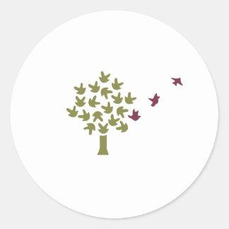 Titoki Montessori School Classic Round Sticker