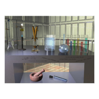 Titration Station ~Print~ Poster