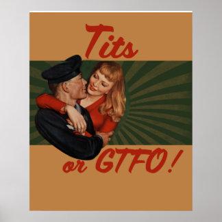 TITS o GTFO Póster