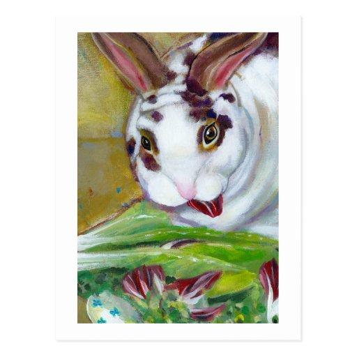 Titulado: Best Boy - arte de mamá del conejo de la Postal