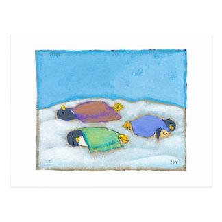 Titulado:  El dormitar - arte napping adorable del Tarjeta Postal
