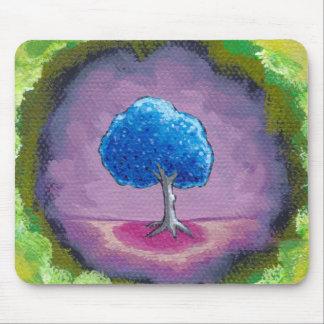 Titulado:  En mi mundo - un árbol del bonito del l Alfombrillas De Raton