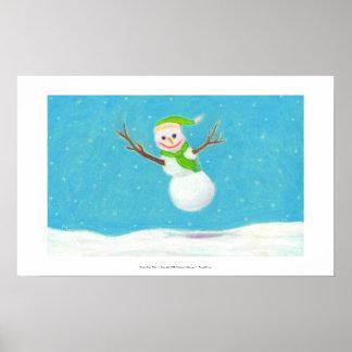 Titulado:  Escama de la nieve - ARTE torpe del muñ Impresiones