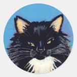 Titulado:  Grumpus necesita más ARTE del CAT del Pegatina Redonda