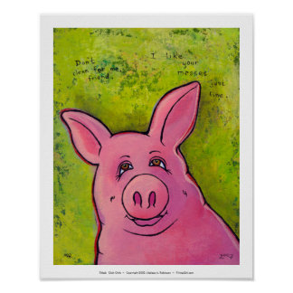 Titulado Oink Oink Posters