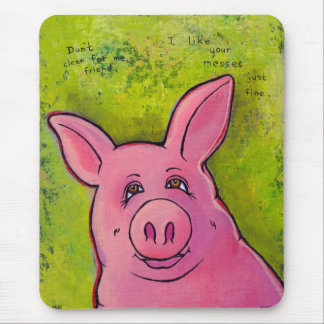 Titulado:  Oink Oink Alfombrilla De Raton