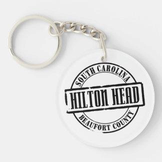 Título de Hilton Head Llaveros