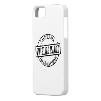 Título de la isla de Catalina Funda Para iPhone SE/5/5s