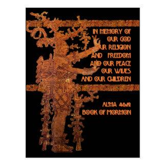 Título de la libertad: Libro de la historia del mo Tarjetas Postales