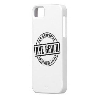 Título de la playa de Rye Funda Para iPhone SE/5/5s
