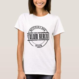 Título de la playa de Tulum Playera