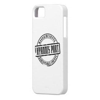 Título del puerto de Hyannis Funda Para iPhone SE/5/5s