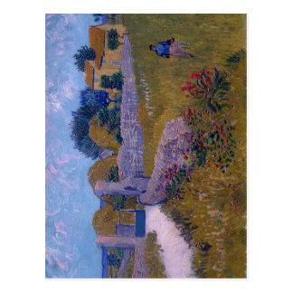 Título sumario: Cortijo en el año de Provence: AR  Tarjeta Postal