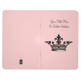 Título y color de encargo de la flor de lis de pri cuaderno