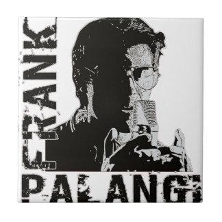 Títulos de Frank Palangi Azulejo Cuadrado Pequeño