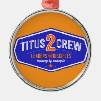 Titus2Crew Metal Ornament