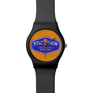 Titus2Crew Reloj De Mano
