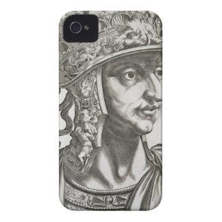 Titus Caesar (39-81 AD), 1596 (engraving) iPhone 4 Case-Mate Case