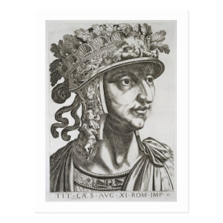 Titus Caesar (39-81 AD), 1596 (engraving) Postcard