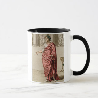 Titus, costume for 'Berenice' by Jean Racine, from Mug