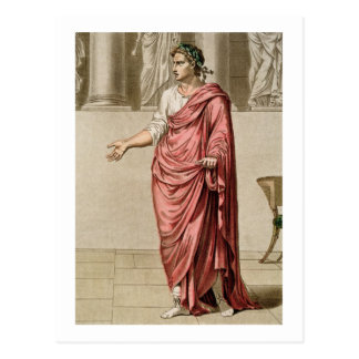 Titus, costume for 'Berenice' by Jean Racine, from Postcard