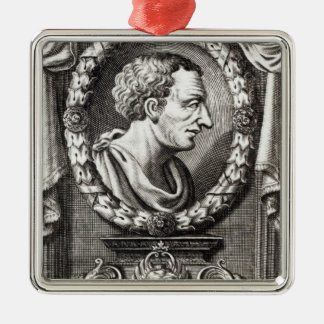 Titus Livius known as Livy Square Metal Christmas Ornament