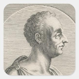 Titus Livius Pegatina Cuadrada