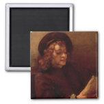 Titus Reading, c.1656-57 2 Inch Square Magnet