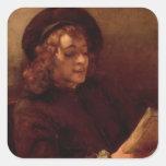 Titus Reading, c.1656-57 Square Sticker