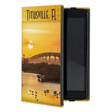 Titusville, Florida Sunset Travel Photography Case For iPad Mini