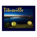 Titusville, la Florida, los E.E.U.U. Postales
