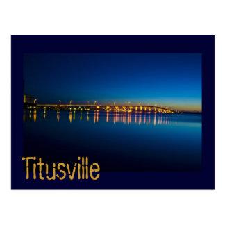 Titusville, la Florida, los E.E.U.U. Tarjetas Postales