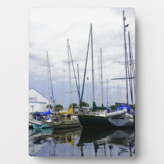 Titusville Marina Plaque