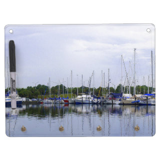 Titusville Pano Dry Erase Board With Keychain Holder