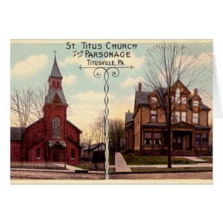 Titusville, Pennsylvania Greeting Card
