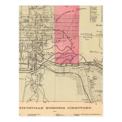 Titusville Postales