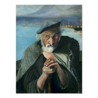Tivadar Csontváry Kosztka The Old Fisherman Poster