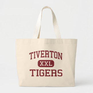 Tiverton - Tigers - High - Tiverton Rhode Island Jumbo Tote Bag