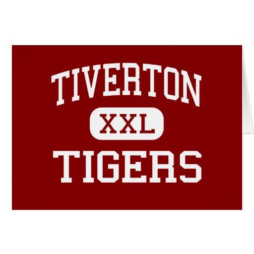 Tiverton - Tigers - High - Tiverton Rhode Island Card
