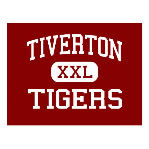 Tiverton - Tigers - High - Tiverton Rhode Island Post Card