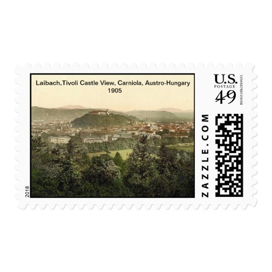 Tivoli Castle View, Carniola, Austro-Hungary 1905 Postage