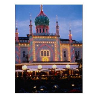 Tivoli Gardens in Copenhagen, Denmark Post Card