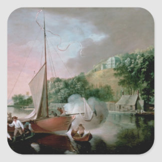 Tivoli, near Cork, 1780s Square Sticker