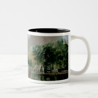 Tivoli, near Cork, 1780s Two-Tone Coffee Mug