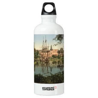 Tivoli Park, Copenhagen, Denmark Water Bottle