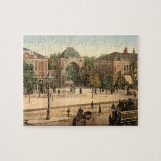 Tivoli Park Entrance Copenhagen Denmark Jigsaw Puzzle