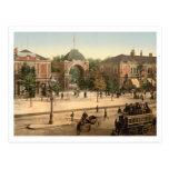 Tivoli Park Entrance Copenhagen Postcard