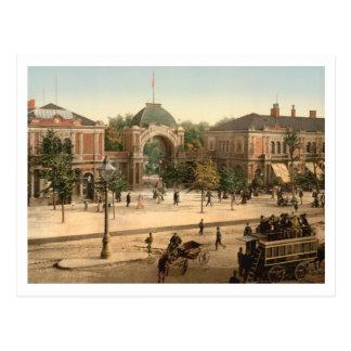 Tivoli Park Entrance Copenhagen Post Card