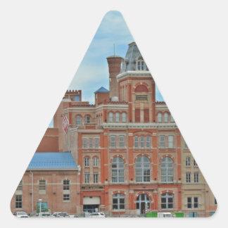 Tivoli Student Union Denver Triangle Sticker